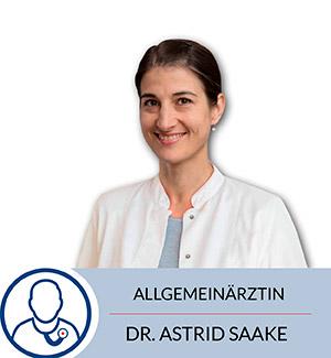 Allgemeinärtzin Dr. Astrid Saake